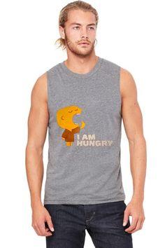 hungry boy Muscle Tank