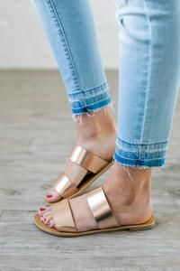 2367a4fe67c8 19 Best rose gold sandals images