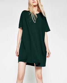 ZARA - WOMAN - FULL DRESS WITH POCKETS