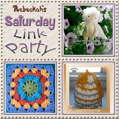 Share what you're making, increase your reach and have some fun with Rebeckah's 6th Saturday Link Party…