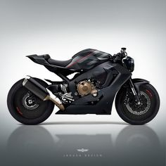by Jakusa Design via ArtStation Bike Bmw, Honda Bikes, Moto Bike, Motorcycle Bike, Gs 500 Cafe Racer, Custom Cafe Racer, Cafe Racer Bikes, Cafe Racers, Concept Motorcycles