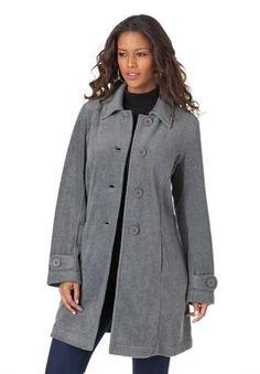 Big Button Fleece Jacket