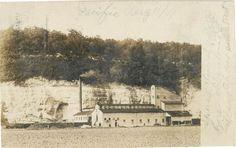 Postcard Real Photo Pacific Missouri Mill Missouri Pacific Railroad   eBay