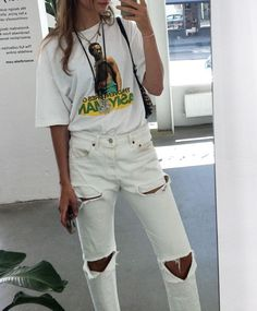 _ _ _ . . . Graphic Tees, Capri Pants, Fresh, Fashion Trends, Outfits, Ideas, Style, Swag, Capri Trousers