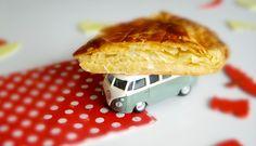 Galette des rois facile / flat pastry cake