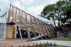 I am currently obsessed with facades....Architects: SHINE Architecture + TAarquitectura   Location: León, México