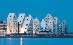«Айсберг» (Isbjerget) - жилой комплекс в Орхусе, Дания