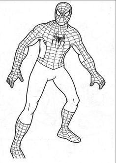 coloring pages for kids boys - Coloring Pages Boys Spiderman