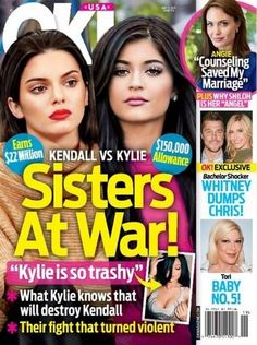 Kendall Calls Kylie Jenner 'Trashy' Before Getting Into A Physical Altercation, Kylie Thinks She's 'Arrogant' - http://oceanup.com/2015/04/29/kendall-calls-kylie-jenner-trashy-before-getting-into-a-physical-altercation-kylie-thinks-shes-arrogant/
