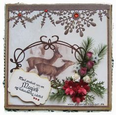 pipserier: 3 christmas cards