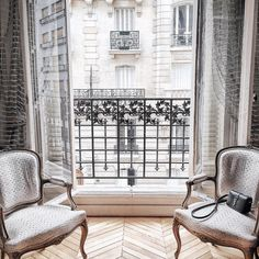 living room......with a Parisian view.......