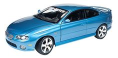 auto world 1/18 Pontiac GTO 2004 Car & amp; Driver Blue by Kyosho. Parallel import goods.