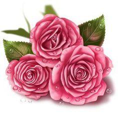 Три розы - Схемы вышивки - Зайкина - Авторы - Портал «Вышивка крестом»