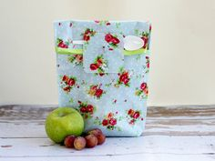 Food Storage Bag Wipe clean lunch sack Reuseable by shiraproducts