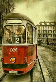 klassische Wiener Strassenbahn, #Wien #Klassiker