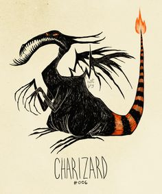 If Pokemon were drawn by Tim Burton --- click on the pin for more.