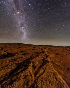 Photo by @babaktafreshi It's unlikely that I travel to Mars in my lifetime. But for now the Atacama Desert in Chile is as similar to Mars as I can wish for! One of the driest places on our planet, where the sky touches the Earth. Photographed from a dry stream with light of the rising moon. Atacama is also known for its stunning night sky. The Milky Way with the Southern Cross and bright stars Alpha & Beta Centauri appear in this view.  Follow @babaktafreshi for more of the world's starry…