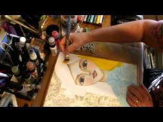 Make your own mixed media tutorial with Whimsey Girl