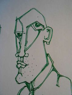 Green Man. - Sketching | Hendrik Gardyn | Touchtalent