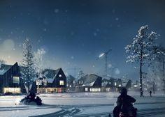 New city centre, Kiruna, Kiruna, SwedenWhite arkitekter AB