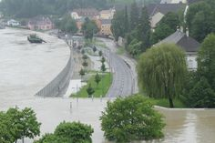 OMG! Flood wall in Austria holding back water. - Imgur