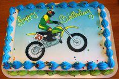 dirt bike cake   Dirt Bike Birthday Cake
