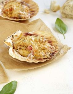 No Salt Recipes, Cooking Recipes, Healthy Recipes, Cooking Stuff, Yummy Appetizers, Appetizer Recipes, A Food, Food And Drink, Coquille Saint Jacques