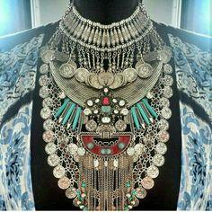 Maxi Choker Tribal Necklace
