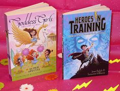 I heart the Goddess Girls books by Joan Holub and Suzanne Williams!