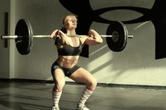 Fittest Woman in the World 2011 (according to the CrossFit Games): Annie Thorisdottir. Amazing