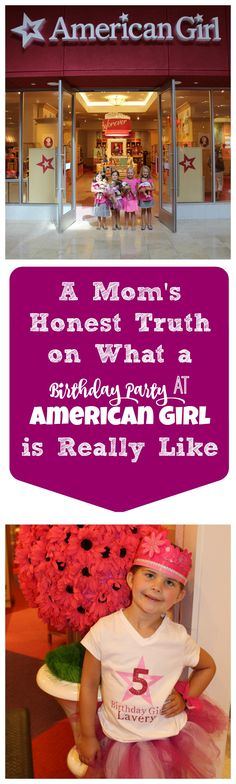 What a Birthday Party at the American Girl Store is Really Like.