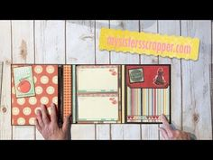 (57) Bo Bunny Kiss the Cook Recipe Folio - YouTube