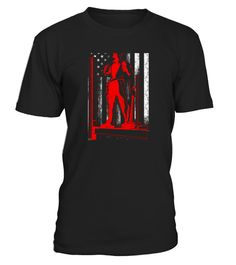 Men S Ironworker Shirt   Ironworker With American Flag Shirt Small Black copy
