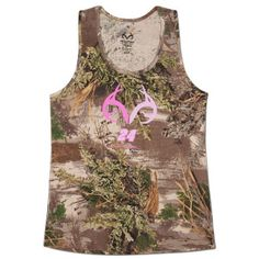 New Jeff Gordon #24 Realtree Camo Ladies Tank