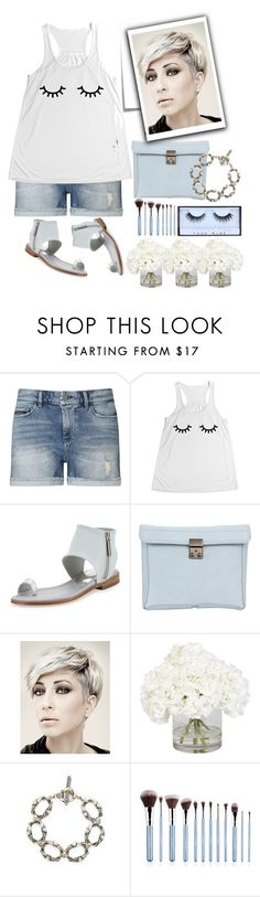 """""""Casual"""" by grinevagh ❤ liked on Polyvore featuring Calvin Klein, Donald J Pliner, 3.1 Phillip Lim, Post-It, Ethan Allen and Konstantino"""