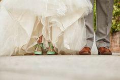 Zapatos de Novia verdes