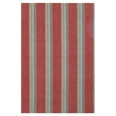 Hand-loomed cotton flatweave rug with multicolor stripes.   Product: RugConstruction Material: CottonColor: MultiFeatures:  Lightweight and reversibleHandmade Note: Please be aware that actual colors may vary from those shown on your screen. Accent rugs may also not show the entire pattern that the corresponding area rugs have.Cleaning and Care: Hand wash gently in cold water