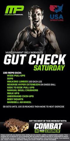 Muscle Pharm Gut Check Workout