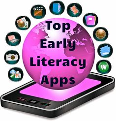 Top early literacy apps! This is wonderful list of literacy apps that has earned great reviews. The list includes apps for learning sight words, spelling, and reading skills!