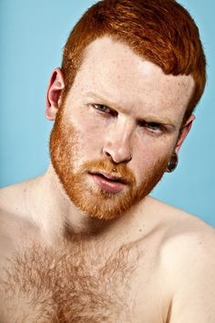 """Redheads with piercings are totally hot. 