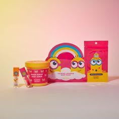 Hair Treatment Mask, Hand Mask, Minion Banana, New Cosmetics, Sheet Mask, Body Scrub, It's Your Birthday, Minions, The Balm