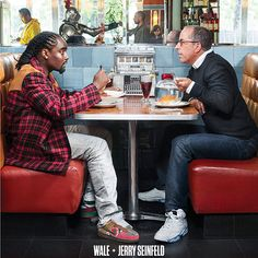 Wale and Jerry Seinfeld team up for the latest cover of Complex magazine. Wale is currently prepping his new album, The Album About Nothing, in which Jerry S. Jerry Seinfeld, The Album About Nothing, Celebrity Sneakers, Dave Chappelle, Pokerface, Odd Couples, Male Magazine, Black Magazine, Hip Hop Rap