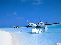 Antilles Seaplanes Photo Gallery: See the Goose fly and land in the water island adventure