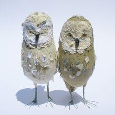 Commission piece-Small Owl-Ponsenby por AbigailBrown en Etsy