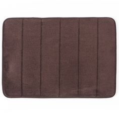 Memory foam bathmat with microfiber cover Memory Foam, Dorm, Bath Mat, Memories, Rugs, Brown, Cover, Home Decor, Dormitory