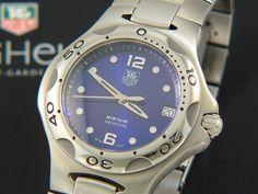 TAG Heuer Kirium Full size Man Electric Blue dial WL111H