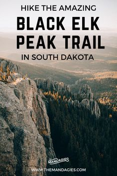 Discover one of the most beautiful hikes in the USA.in South Dakota! We're sharing stunning landscapes on Black Elk Peak trail, how to prepare, and amazing photos from Custer State Park and the Black Elk Wilderness. Save this post for hiking inspiration South Dakota Vacation, South Dakota Travel, Custer State Park, Hiking Photography, Sunset Photography, State Parks, Badlands National Park, National Parks, Angeles