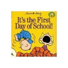 It's the First Day of School! (Peanuts Gang):Amazon:Books