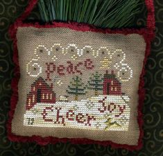 Spirity of Christmas Sampler by Homespun Elegance