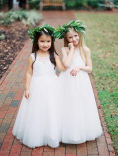 So sweet: http://www.stylemepretty.com/south-carolina-weddings/charleston/2015/07/15/elegant-navy-blush-charleston-wedding/ | Photography: Sarah Kate - http://sarahkatephoto.com/